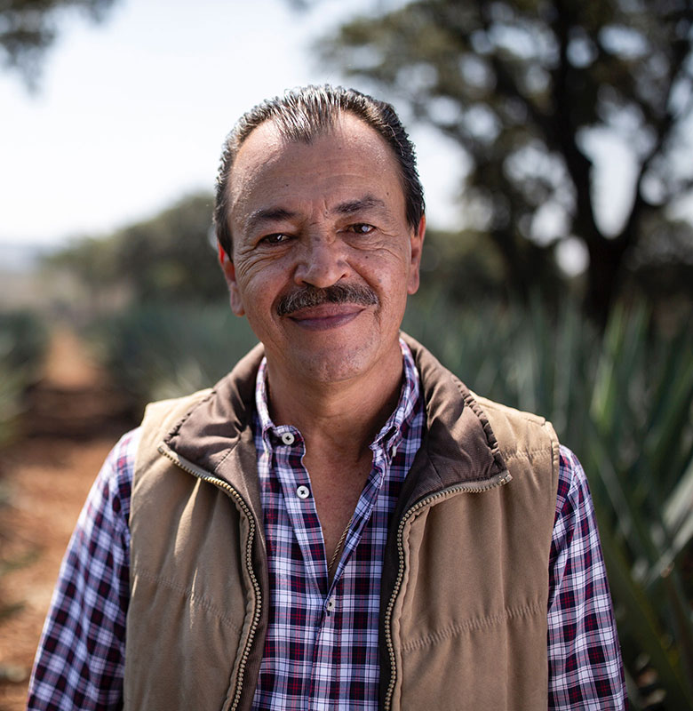 Portrait of El Tesoro's current master distiller Carlos Camarena
