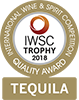 2018 International Wine & Spirits Competition gold medal quality award icon