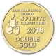 2018 San Francisco World Spirits Competition double gold medal icon