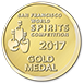 2017 San Francisco World Spirits Competition gold medal icon