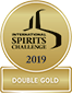 DOUBLE GOLD MEDAL AND TROPHY – INTERNATIONAL SPIRITS CHALLENGE 2019