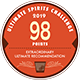 98 DOUBLE GOLD MEDAL AND TROPHY – INTERNATIONAL SPIRITS CHALLENGE 2019