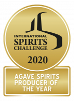 International Spirits Challenge 2020 Agave Spirits Producer of the Year medal.