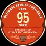 Ultimate Sprits Challenge 2019 95 points medal.