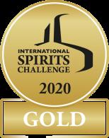 International Spirits Challenge 2020 gold medal.